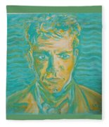 Matt Damon Fleece Blanket