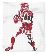 Matt Ryan Atlanta Falcons Pixel Art 5 Fleece Blanket