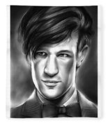 Matt Smith Fleece Blanket
