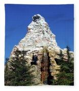 Matterhorn Disneyland Fleece Blanket