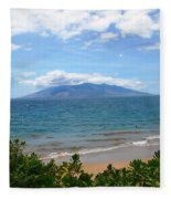Maui Beach Fleece Blanket