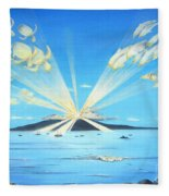 Maui Magic Fleece Blanket