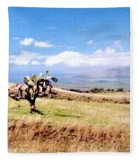 Maui Upcountry Fleece Blanket