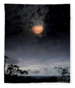 Maunaleo Journey With Spirit Fleece Blanket