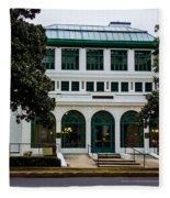 Maurice Bath House - Hot Springs, Arkansas Fleece Blanket