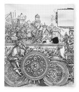 Maximilian I 1459-1519 Fleece Blanket