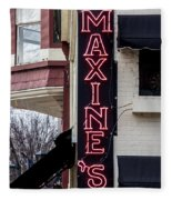 Maxine's Saloon Fleece Blanket