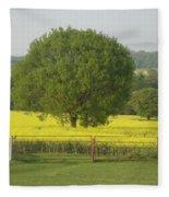 May Fields Fleece Blanket