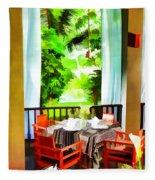 Maya Sari Mas Fleece Blanket