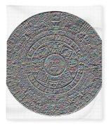 Mayan Calendar Fleece Blanket