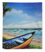 Mayaro Beach Fleece Blanket