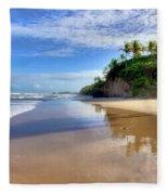 Mayaro Beach Trinidad Fleece Blanket