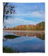 Mayor's Pond, Autumn, #1 Fleece Blanket