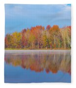Mayor's Pond, Autumn, #2 Fleece Blanket