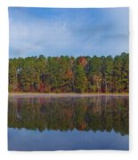Mayor's Pond, Autumn, #3 Fleece Blanket