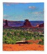 Maze Standing Rocks Fleece Blanket