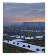 Maze Fleece Blanket