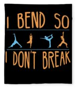 Mb 1142 Fitness Bend Dont Break 500 Fleece Blanket