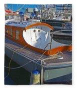 Mb 172 Epic Lass In Darling Harbour Fleece Blanket