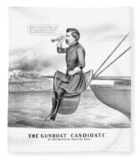 Mcclellan The Gunboat Candidate Fleece Blanket