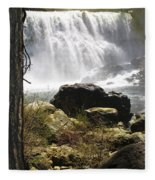 Mccloud Middle Falls Fleece Blanket