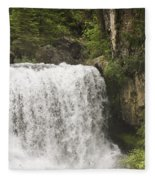 Mccloud Upper Falls Fleece Blanket