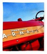 Mccormick Farmall 450 Fleece Blanket