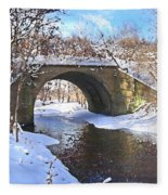 Mcgowan Bridge Fleece Blanket