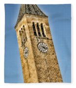 Mcgraw Tower Fleece Blanket