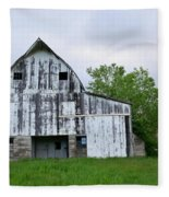 Mcgregor Iowa Barn Fleece Blanket