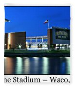 Mclane Stadium Print Fleece Blanket