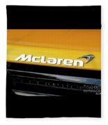 Mclaren Fleece Blanket
