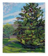 Mcmichael Spruce Fleece Blanket