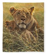 Me And Mum Fleece Blanket