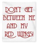 Me And My Red Wings 1 Fleece Blanket