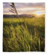 Meadow Light Fleece Blanket