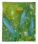 Meadow Musing Fleece Blanket