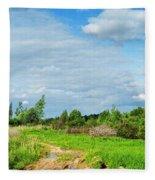 Meadow Road Fleece Blanket