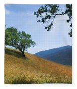 Meadow View Summer Fleece Blanket