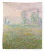 Meadows In Giverny Fleece Blanket
