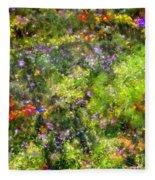 Meadowstars In Manx Fleece Blanket