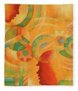 Mechanical Minds Fleece Blanket