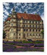 Mecklenburg Palace Fleece Blanket