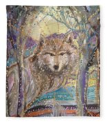 Medeina, Power And Strength Of The Forest Fleece Blanket