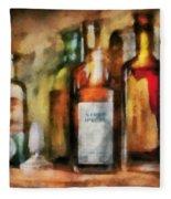 Medicine - Syrup Of Ipecac Fleece Blanket