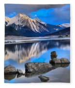 Medicine Lake Fleece Blanket