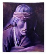 Medicine Man Fleece Blanket