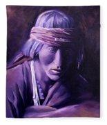 Medicine Man Fleece Blanket