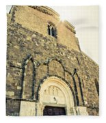 Medieval Abbey - Fossacesia - Italy 5 Fleece Blanket