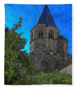 Medieval Bell Tower 1 Fleece Blanket